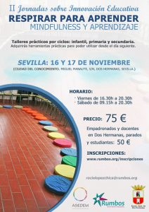 Mindfulness en Sevilla para profesores